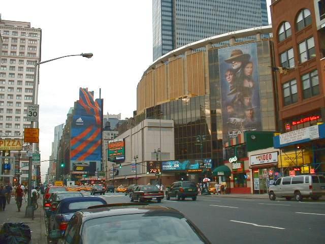 Мэдисон Сквэр Гарден на 8-й авеню