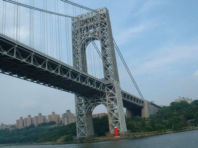 Мост Дж. Вашингтона - двухярусный