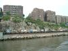 Огибаем Манхэттен с севера. Железнодорожная платформа